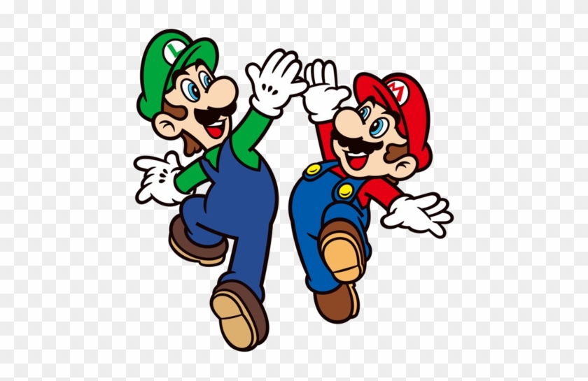 Today Is National High Five Day This Iconic Day , You - Mario And Luigi 2d #86653