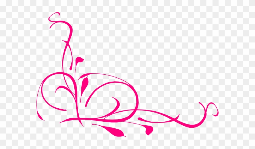Pink Swirl Clip Art - Vine Clip Art #86670