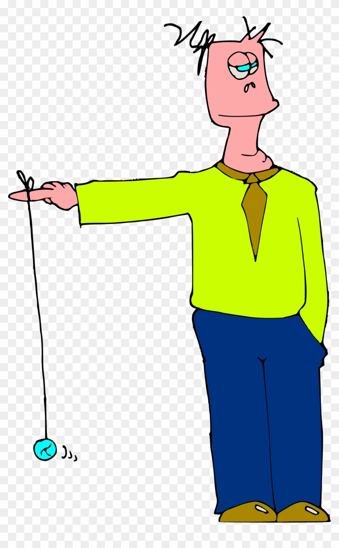 Yoyo Clipart Big - Boring Cartoon #86673