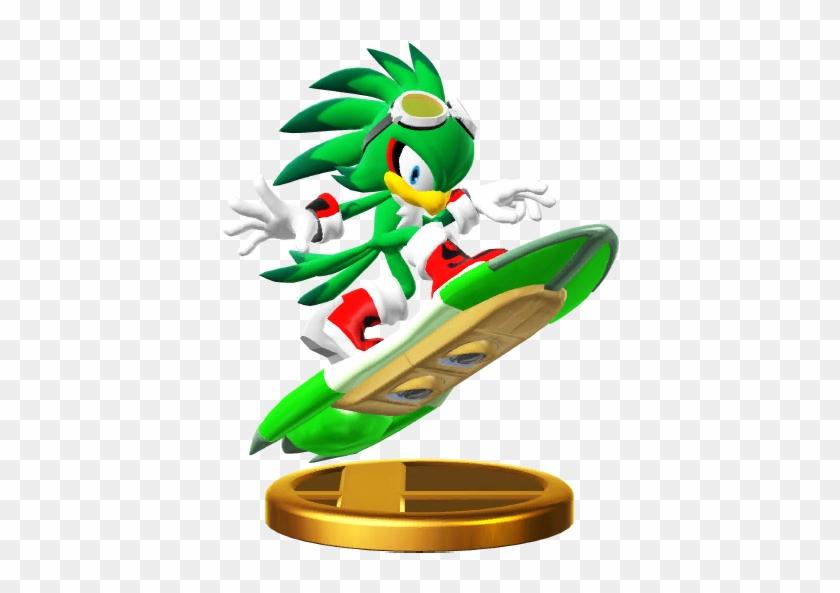 Jet The Hawk, Jetthehawktrophywiiu - Super Smash Bros. For Nintendo 3ds And Wii U #86677