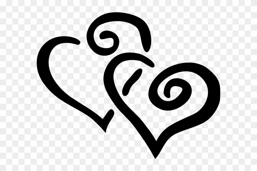 Heart Clipart Black And White 3 2 Rh Clipart Info Heart - Hearts Clip Art #86687