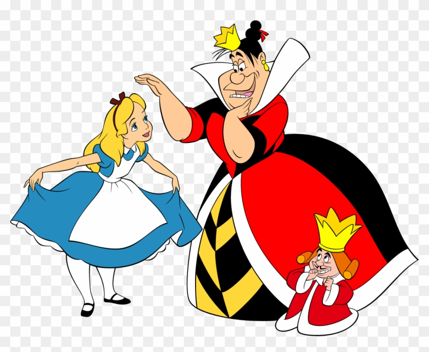Alice Cartoons - King Of Hearts Alice In Wonderland #86718