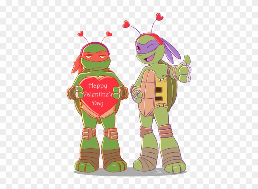Happy Valentine's Day 2 By Bakameganekko - Happy Tmnt Valentine's Day #86832