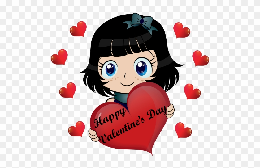 Happy Valentine Day Smiley Emoticon Clipart - Smiley Valentine Animation #86835