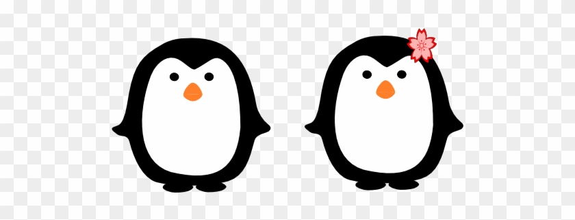 Two Penguins Clip Art At Vector Clip Art - Keep Calm And Love Penguins #86857