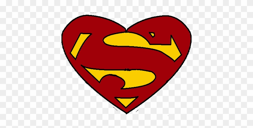 Superman Valentines Day By Marktreseh - Logos De Superheroes #86940