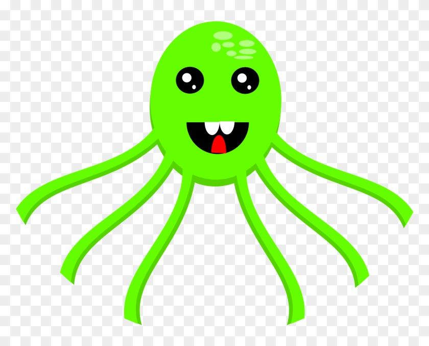 Cartoon Octopus Clipart, Vector Clip Art Online, Royalty - Clip Art #87058