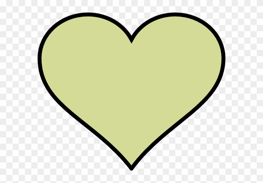 Heart To Colour Green Heart Different Colour Clip Art - Colour Hearts #87065