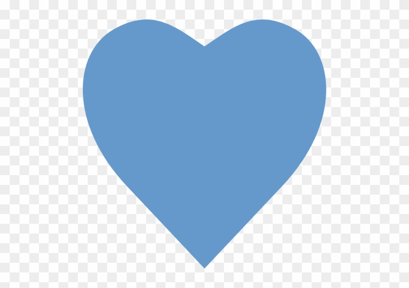 Copy And Paste Double Hearts Clipart - Heart Blue #87107