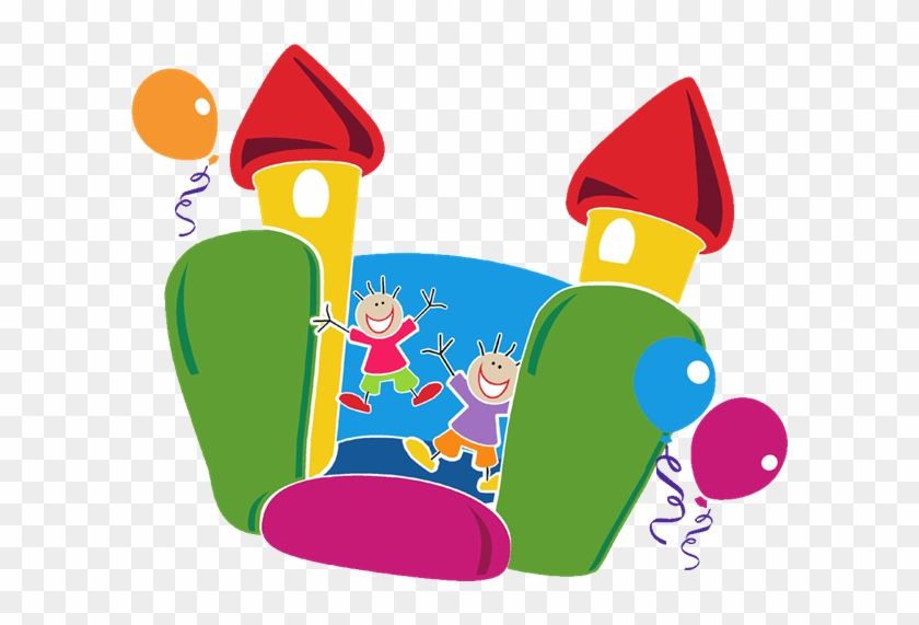 Bounce House Flip - Community Fun Day Poster #87203