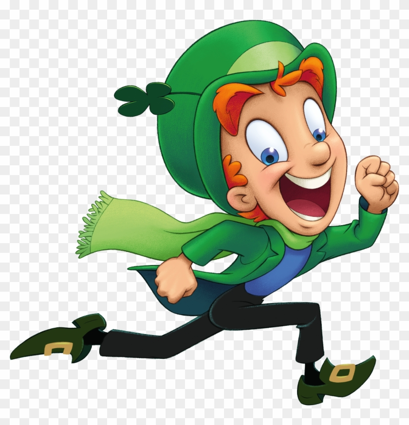 Print Out Lucky The Leprechaun To Add To Your St - Lucky Charms Leprechaun Png #87208