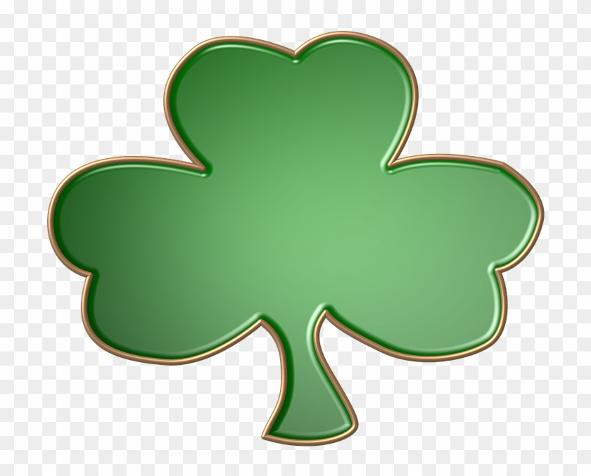 Green Gold Shape Holiday St Patty Day Decorative - Green #87210