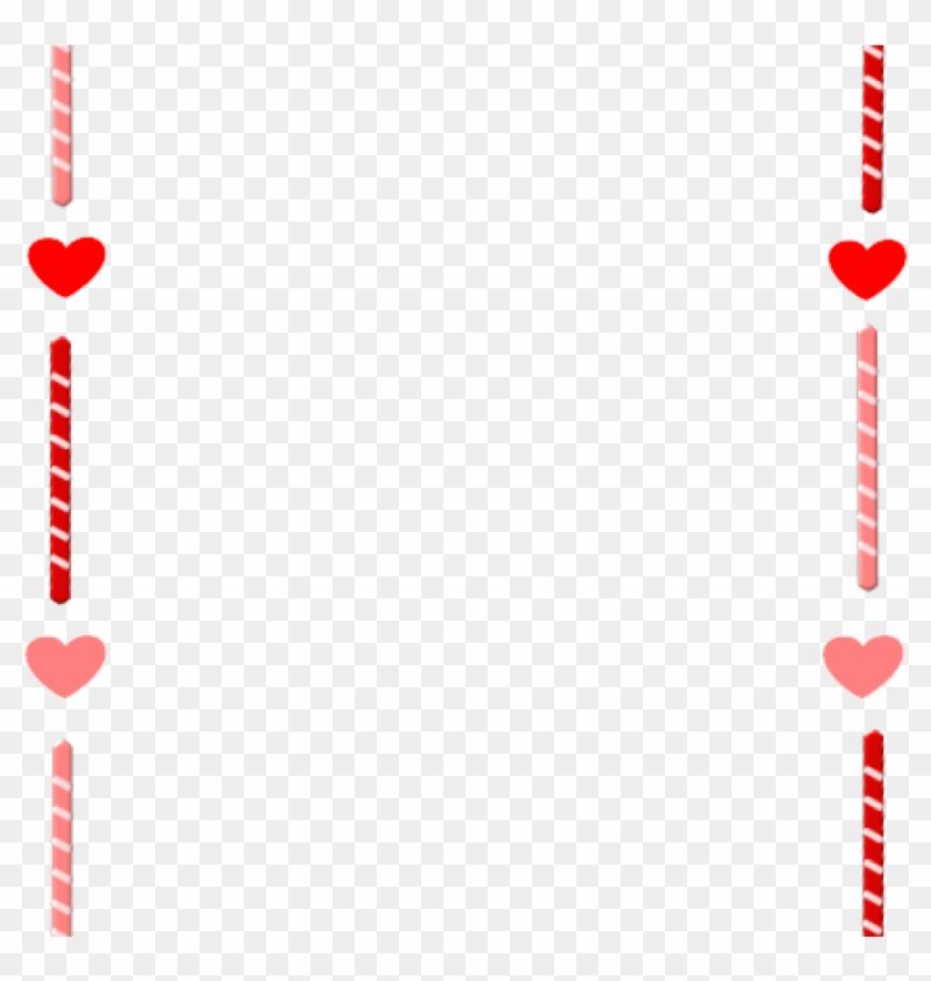 Valentines Borders Clip Art Valentines Day Border Clipart - Clip Art #87238