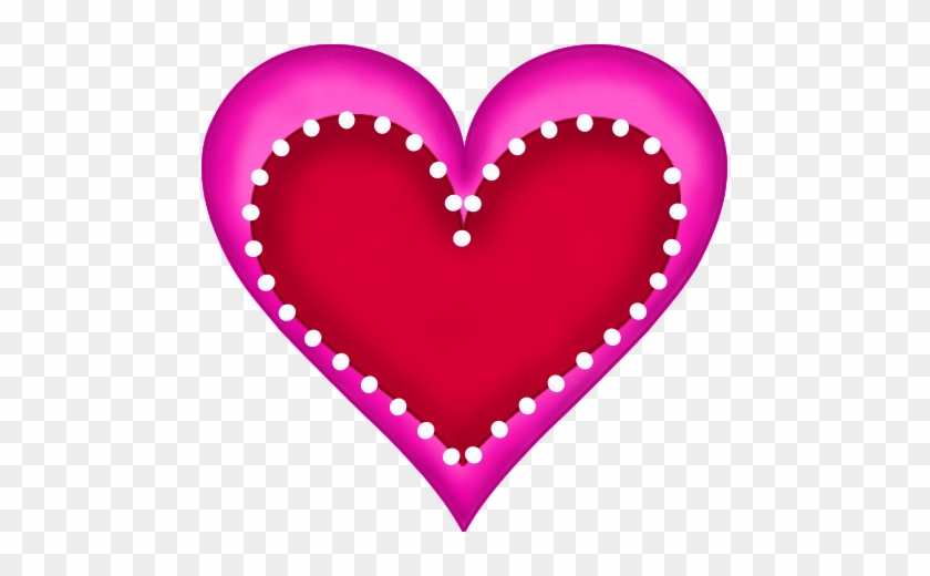 Free Valentine - Pink Heart And Red Heart #87311