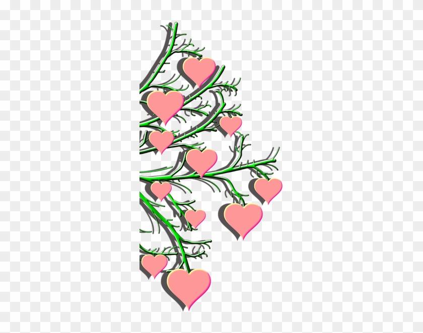 Valentine's Day Heart Pink Symbols Clip Art - Valentine's Day #87355