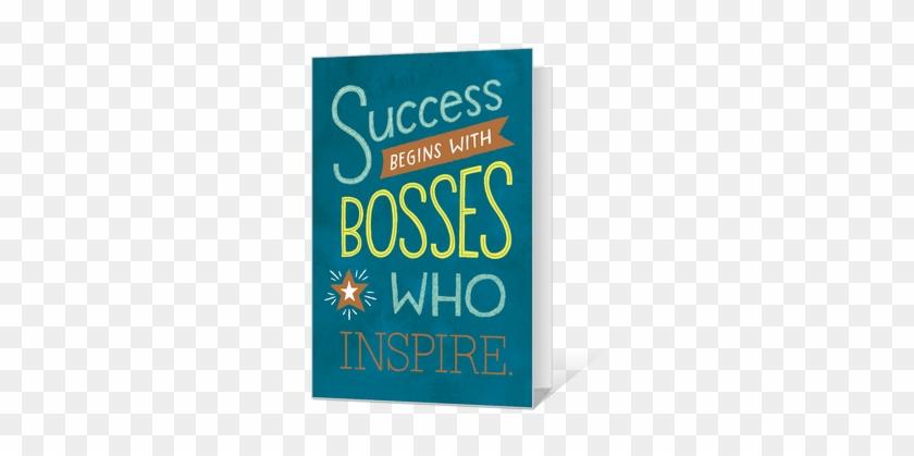 Bosses Who Inspire Printable - Educational Bosses Day 2018 #87378
