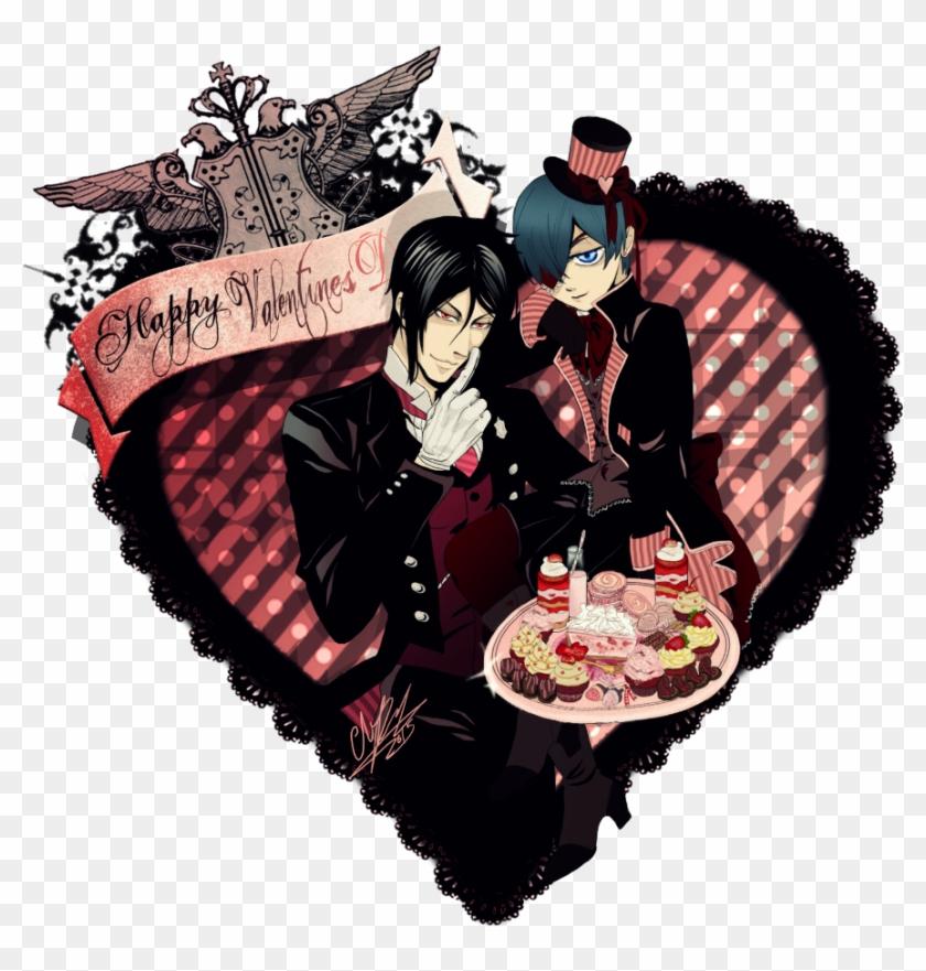 Kuroshitsuji Valentines By Florierend Kuroshitsuji Happy Valentine