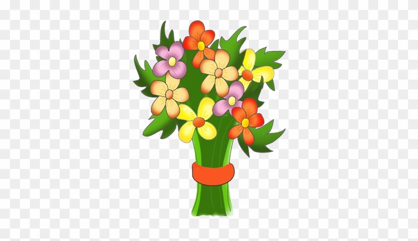 Flower Clipart Birthday - Happy Birthday Flowers Clipart #87448
