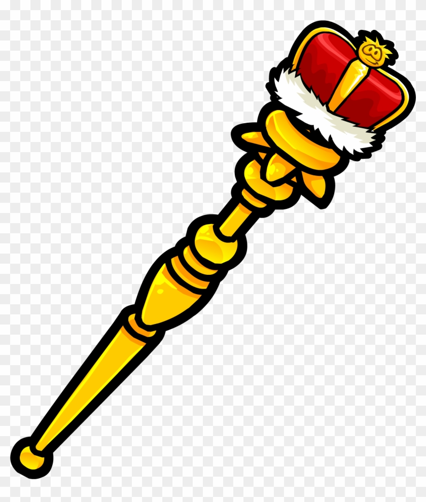 Staff Clipart King's - Scepter Clip Art #87527