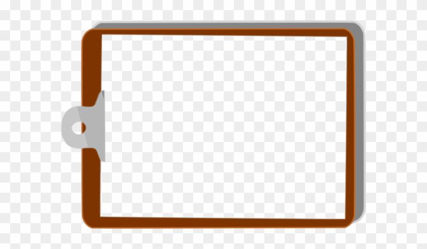 Clip Board Left Clip Art - Clipboard Clip Art #87586