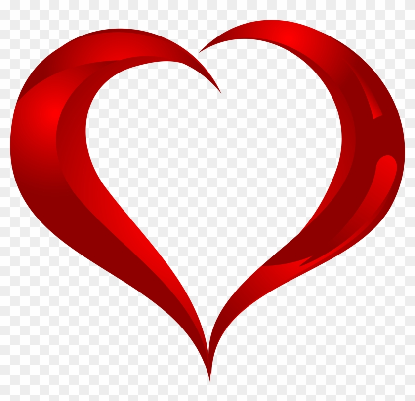 Beautiful Heart Png Clipart - Hd Image Of Love Shape #87597
