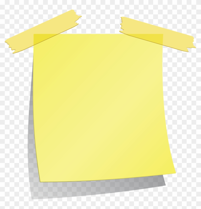 Sticky Note Png - Sticky Notes With A Transparent Background #87651