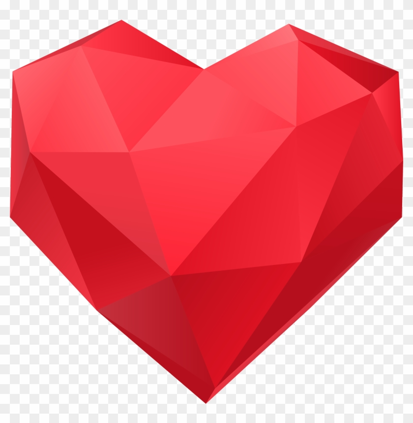 Triangle Heart Png #87694