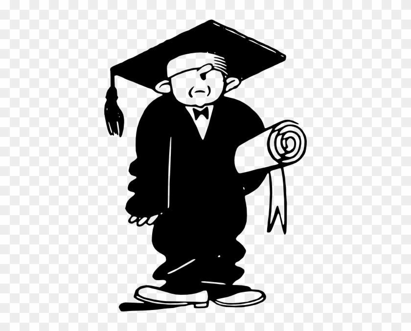 Graduate With Diploma Clip Art At Clker - High School Graduation Clip Art #87797
