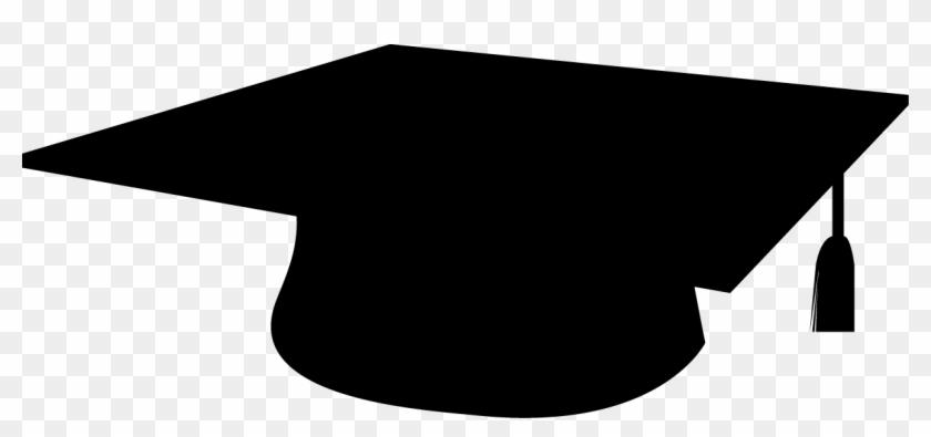 Graduation Cap Silhouette Symbols That Represent Education Free