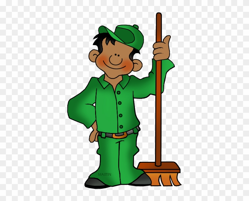 October 2 National Custodial Worker Day - Labor Day Clip Art #87812