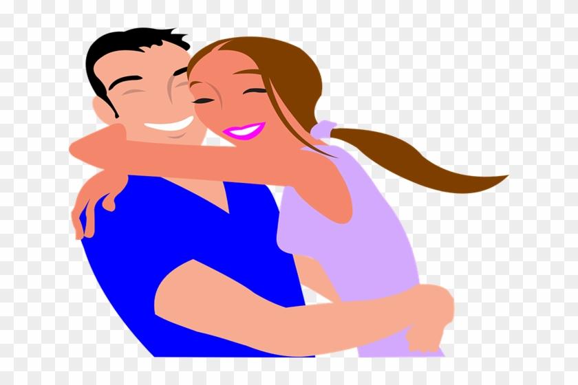 Happy Couple Clip Art #87816