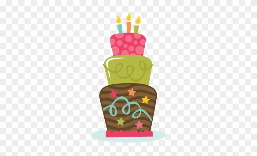 Birthday Cake Svg Birthday Svg Files Birthday Cake - Happy Birth Day Clip Arts #87827