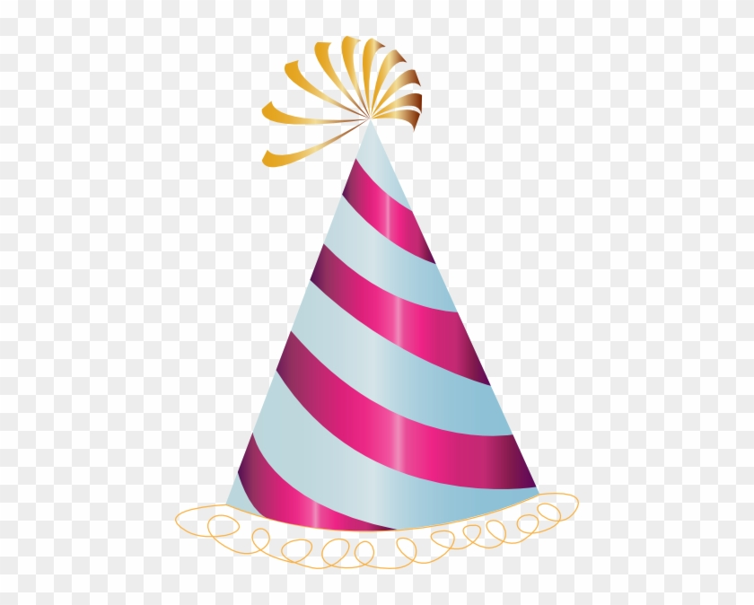 Clipart Birthday Hat - Party Hat Clip Art #87830