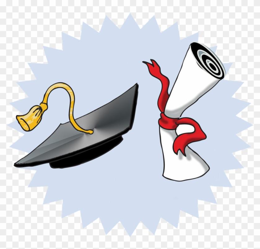 Scholarship Clip Art Free - Graduation Clipart #87869