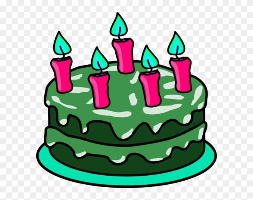 St Patrick's Day, My Birthday, Spring, For Sure - Birthday Cake Clip Art #87883