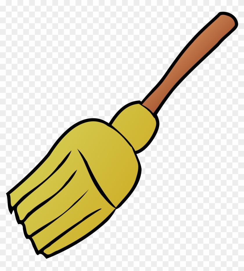 Free Blue Squeegee Free Broom - Broom Clipart #87918