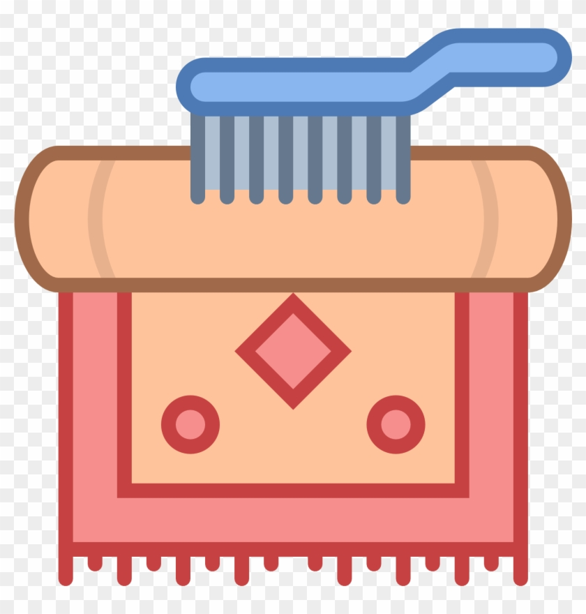 Carpet Cleaning Icon - Cleaning Carpet Icon #87925