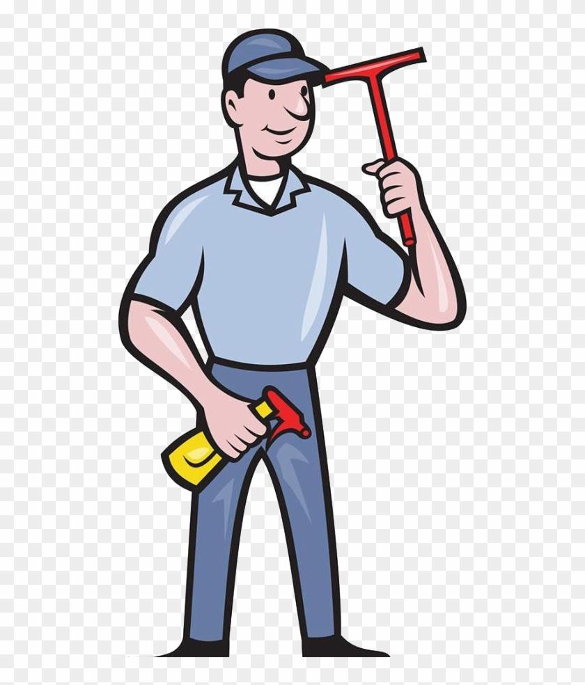 Window Cleaner Royalty-free Clip Art - Window Cleaner Royalty-free Clip Art #87949