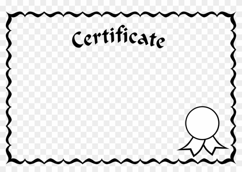 Certificate Borders And Frames #87937