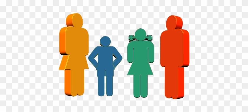 Family, Father, Mother, Child, Girl - Atencion A Padres De Familia #87941