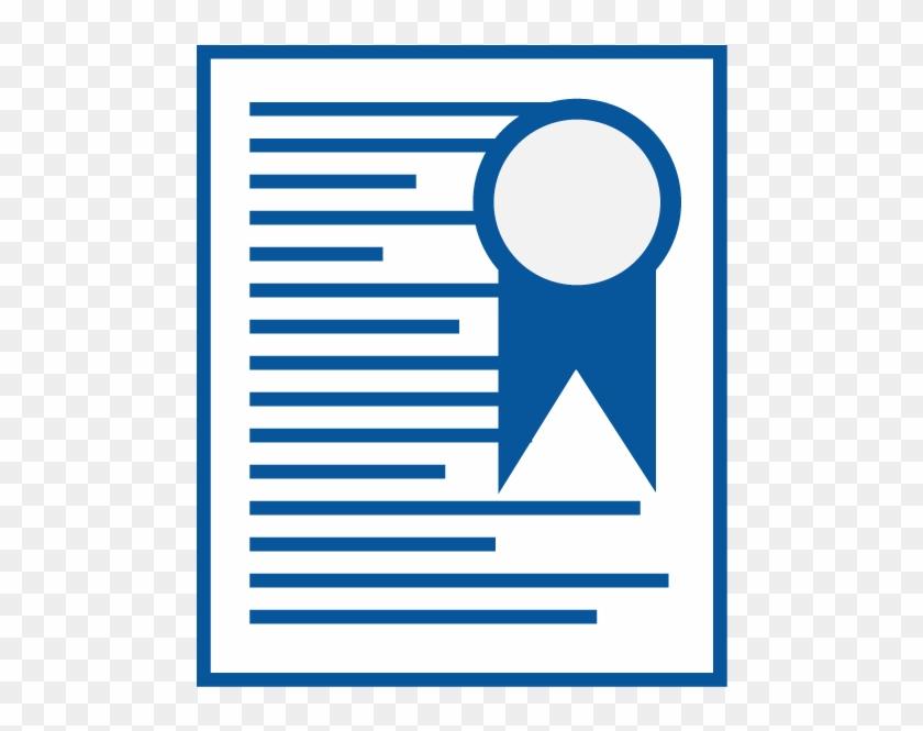 Clip Art Server Certificate - Certificate Of Origin Icon #88049