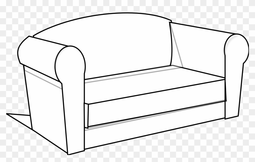 Couch Black And White #88069