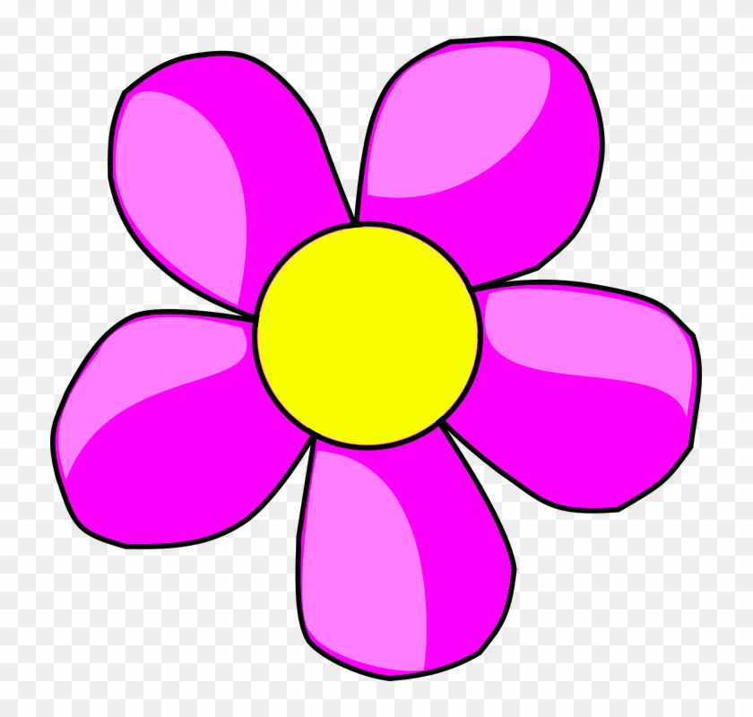 Flower Clip Art At - Flower Head Clip Art #88083