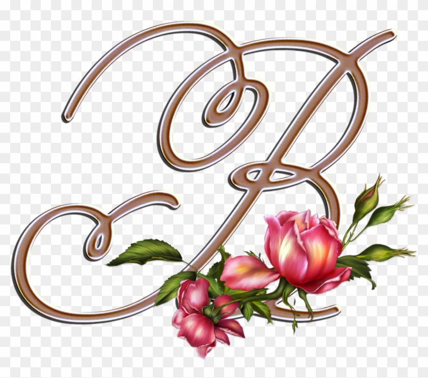 Flores Y Letras Para Decoupage - Letter #88162