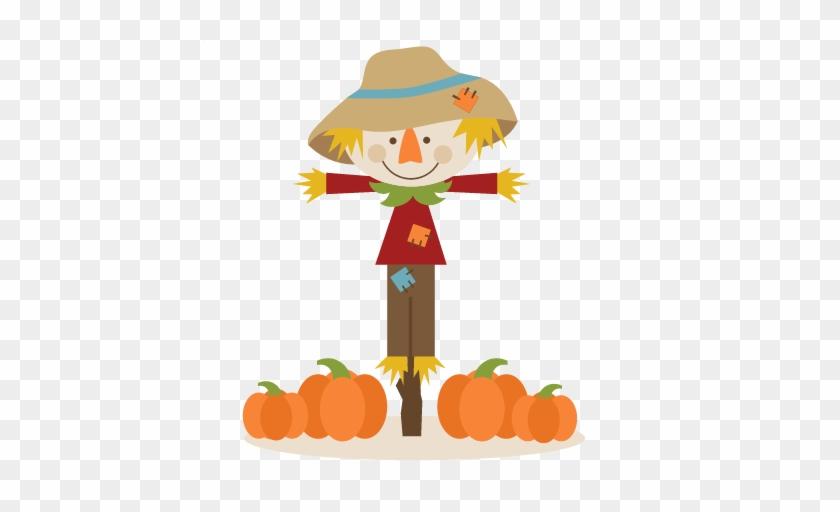 Scarecrow Cute Clipart Clipartfox - Scarecrow Clipart Png #88236