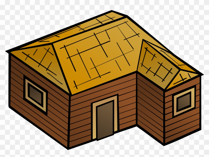 Free Stock Photo Of Wooden House Vector Clipart Public - Wooden House Clipart #88241