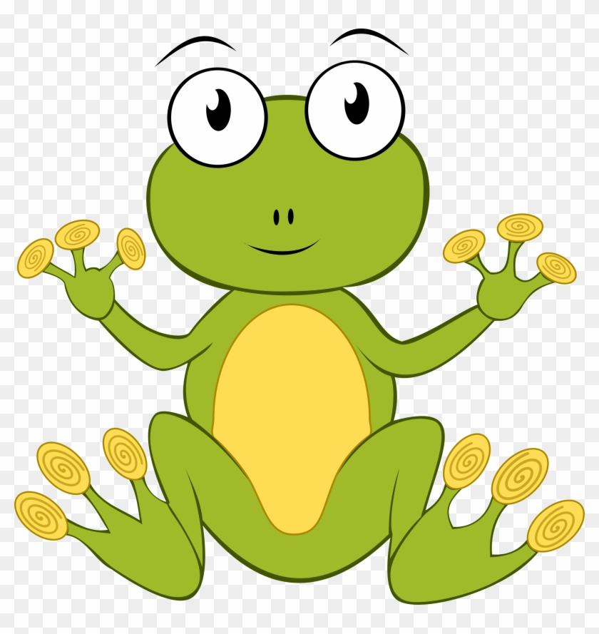 More From My Site - Frog Drawing Transparent Background #88259