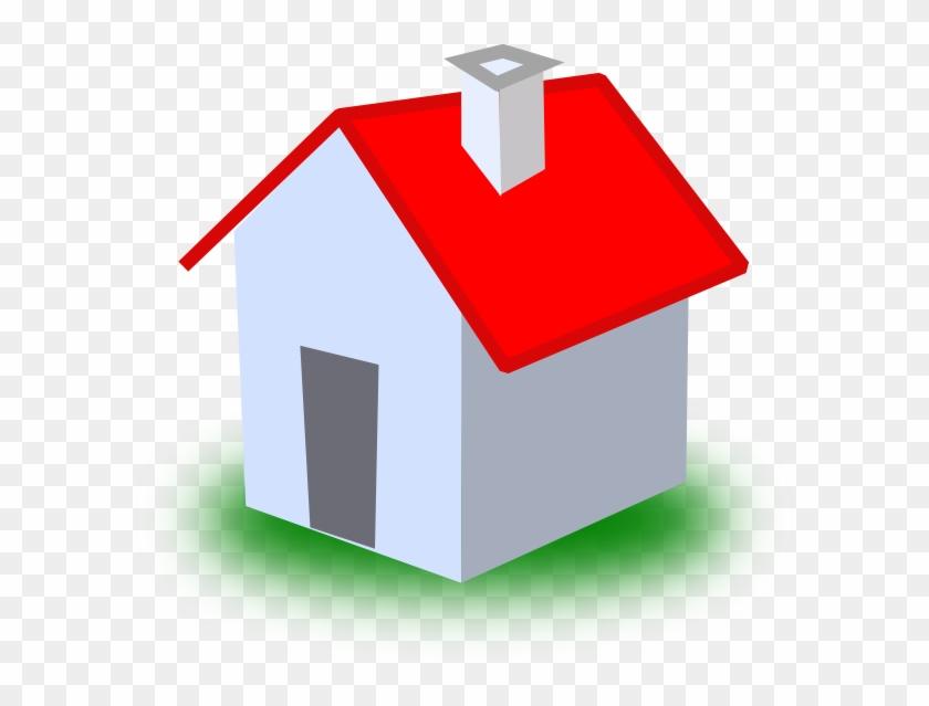 Clip Art Small House - House Cartoon Png #88272