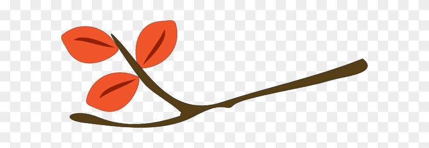 Twig Fall Clip Art - Fall Twig Clipart #88280