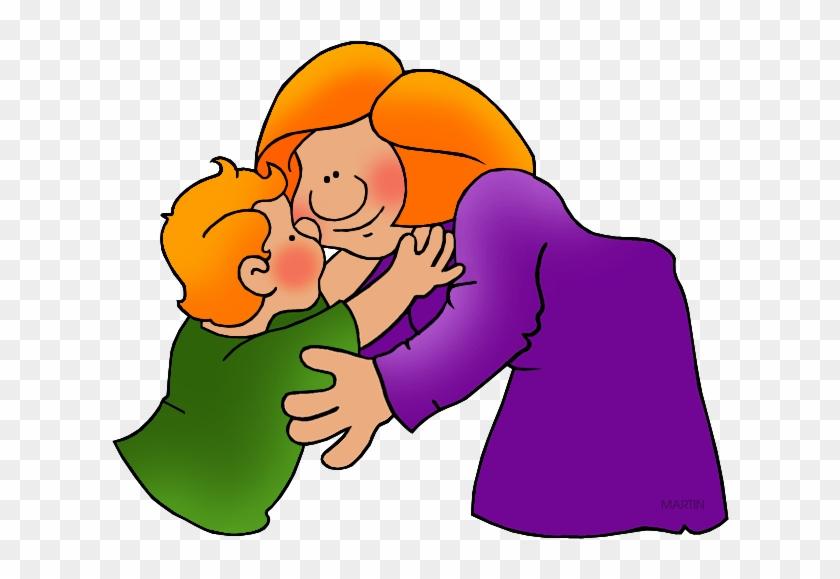 Hug - Mom Phillip Martin Clipart #88294